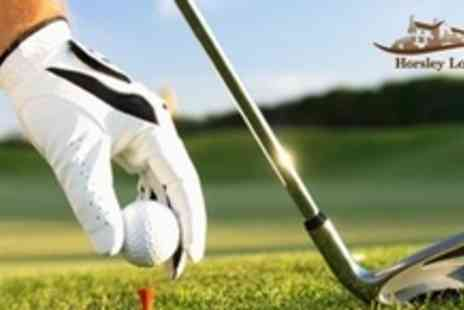 Horsley Lodge - One Hour Group Golf Lesson With PGA Professional Coach - Save 60%