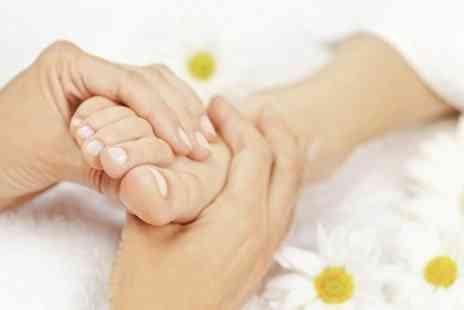 First Steps Podiatry - Treatment  Plus Polish - Save 70%