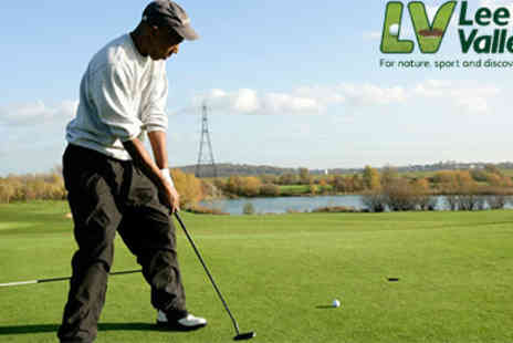 Lee Valley Park Farms - Fathers Day challenge with a hole in one and cleverly designed courses - Save 50%