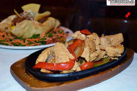 Viva Tequila -  Spend on Mexican Italian Food for Two People - Save 59%