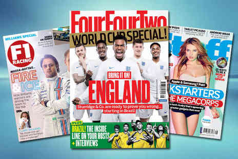 our four two - 12 Month Subscription to Two Magazine  - Save 58%