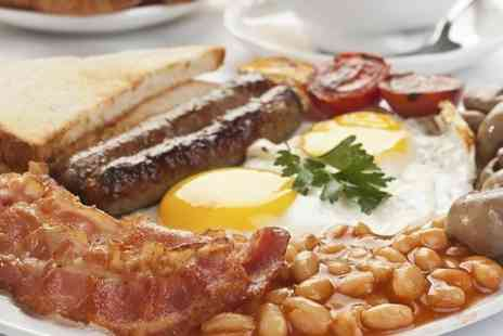 Quaint & Quirky - Olde English Breakfast For Two With Drinks - Save 44%