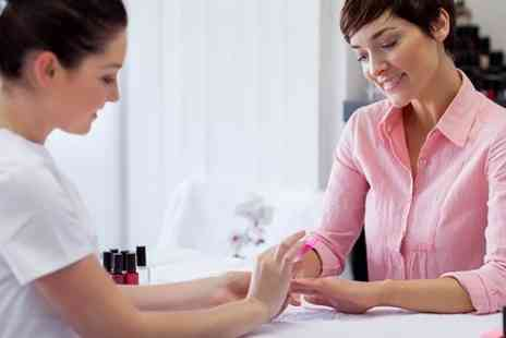 The Hair & Beauty Company - Manicure and Gel Polish or Brow Sculpt Workshop - Save 64%
