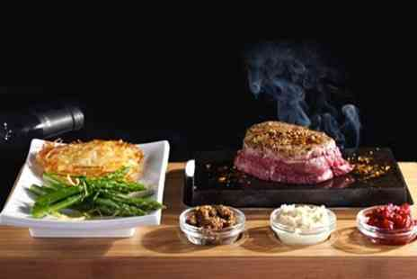 Rangos - Three Course Hot Stone Steak Meal For Two  - Save 58%