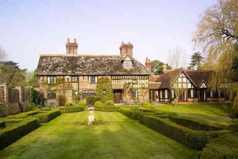 Langshott Manor - One night Stay For Two With Breakfast  - Save 53%