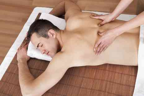 Simon Flannery Male Grooming - One Hour Massage  - Save 50%