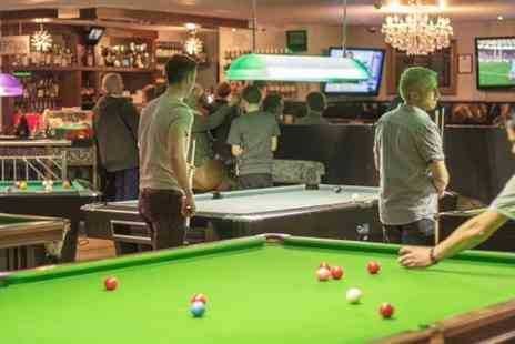 The Ball Room Sports Bar  - Pizza, Beer and Pool Plus Live World Cup Football For Two  - Save 51%