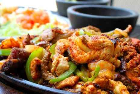 The Gas Lamp - Nachos and Fajitas Plus Cocktails For Two  - Save 60%