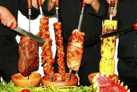 Escobars Rodizio Bar & Grill - All You Can Eat Brazilian Meal For Two - Save 37%