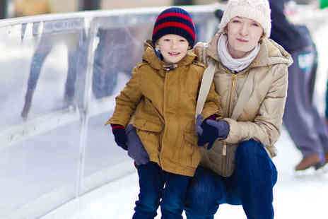 Deeside Ice Rink - Ice Skating for Two People   - Save 49%