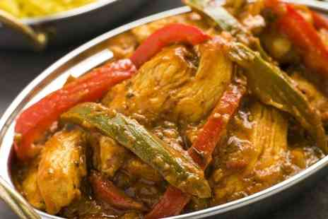 Rajdhani Restaurant - Two Course Indian Meal For Two - Save 52%
