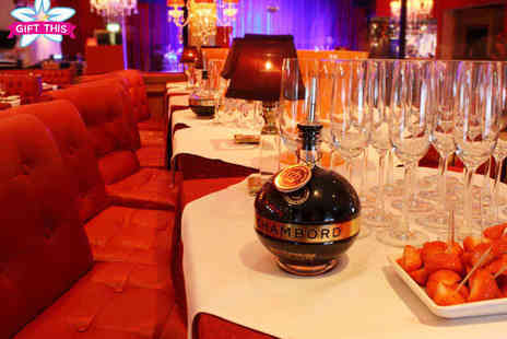 Cabaret Supper Club - Sunday Brunch with Entertainment for Two with Glass of Prosecco - Save 57%