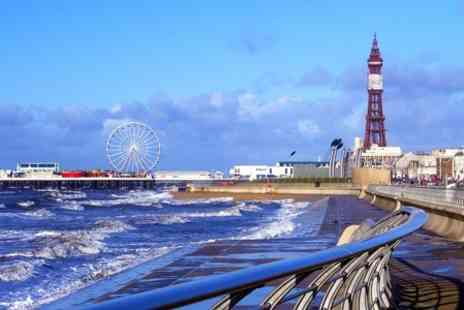 Sandford Hotel - One Night Stay For Two in Blackpool - Save 50%