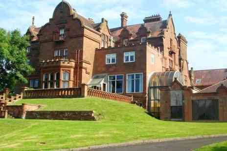 Adamton Country House Hotel - One Night Stay For Two With Breakfast, Dinner and Parking in  South Ayrshire - Save 50%