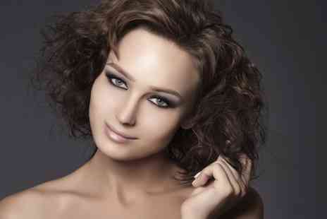 Divine Hair & Beauty - Cut, and Blow Dry With Colour - Save 50%