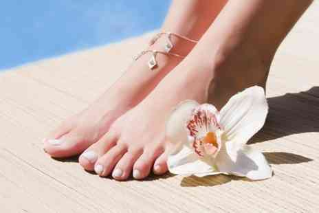 Goddess Beauty Salon - Pedicure With Gel Polish - Save 50%