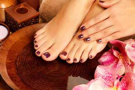 Glow Tanning & Beauty - Shellac For Fingers or Toes  - Save 40%