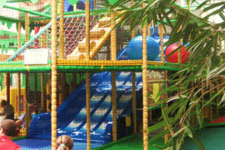 Jungle Mania Play Centre - Two visits to Jungle Mania Sheffield for two kids - Save 61%
