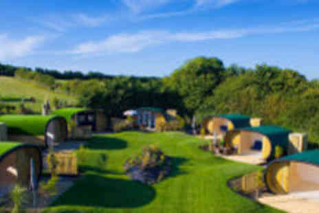 Atlantic Surf Pods - Three night Cornwall glamping break for two - Save 61%