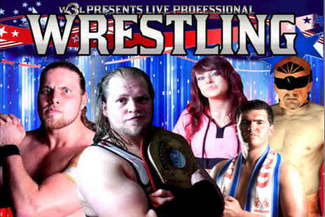 World Wide Wrestling League - Ticket to see the World Wide Wrestling League featuring TNAs Doug Williams - Save 50%