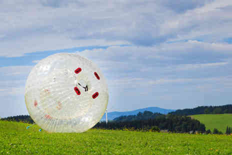 Madrenaline Activities - One hour zorbing experience for 1 - Save 62%