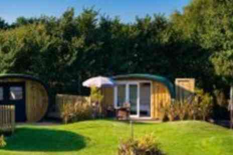 Atlantic Surf Pods - Two night Cornwall glamping break for two - Save 59%
