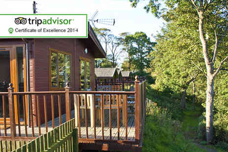 Drummohr Holiday Park - Four night luxury lodge break for up to 4 - Save 50%