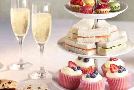 Searcys Champagne Bar - Champagne Afternoon Tea for Two  People - Save 52%