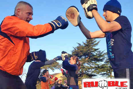 Rumble in the Park - Five Sessions of Boot Camp or Box Fit - Save 80%