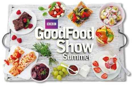 BBC Good Food Show Summer -  Saturday Afternoon Entry at Food Show- Save 51%