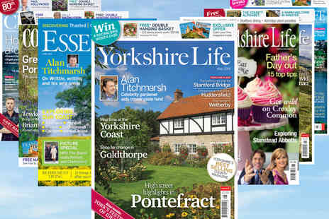 Archant Community Media - Regional Life Magazine Annual Subscription - Save 39%
