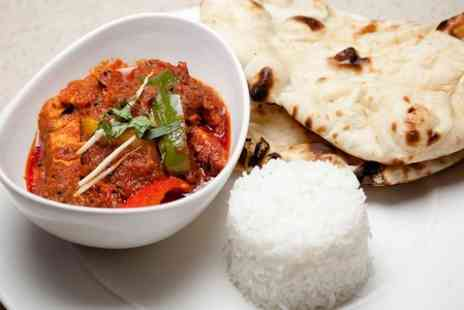 Rasoi Indian Kitchen - Two Course Indian Meal For Two With Wine - Save 53%