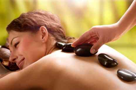 AcuSpa - Hot Stone Massage or Massage and Facial - Save 68%