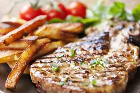 The White Lion - Steak Meal For Two or Four With Wine - Save 49%