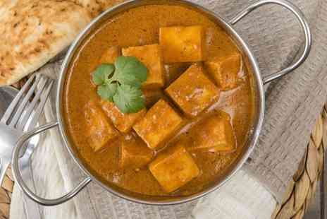 Rimjhim Indian Cuisine - Two Course Indian Lunch or Dinner For Two - Save 49%