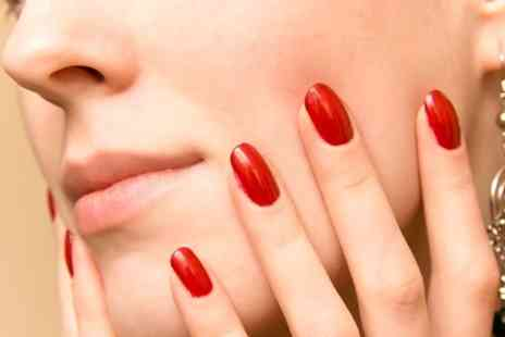 Room for Beauty - Gelish Manicure or Pedicure Or Both - Save 48%