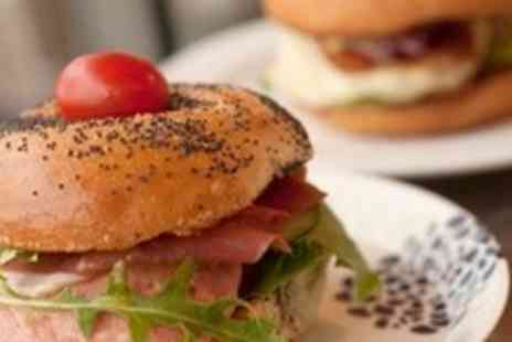 Bagel Factory - £2.75 for Any Bagel and either an Americano Coffee or Tea - Save 50%