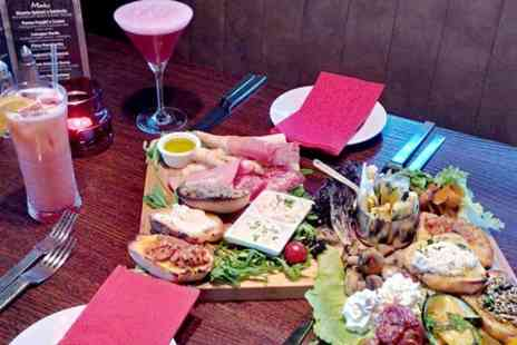 Little Italy - Cocktails and Sharing Platter For Two  - Save 50%