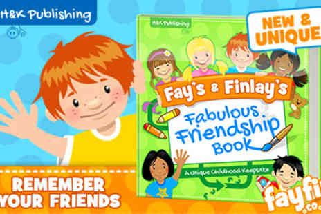 FayFin  - Fays & Finlays Fabulous Friendship Book - Save 50%