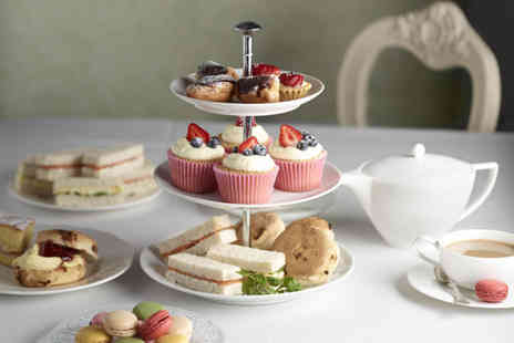 Escape - High tea for 2 including a glass of wine - Save 54%
