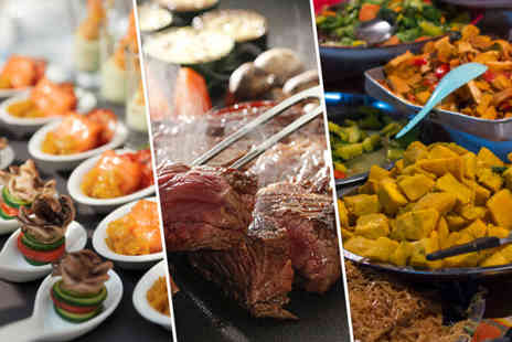 Savour Station World Kitchen - All you can eat world buffet for 2 - Save 42%