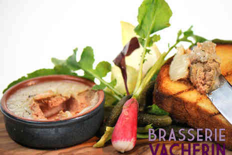 Brasserie Vacherin - Three Course Lunch for Two - Save 64%