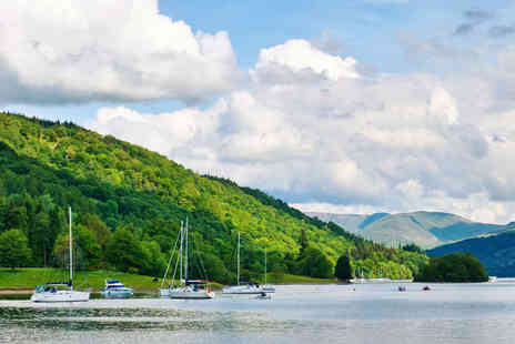 Newby Bridge - One night stay Hotel Overlooking the Shores of Windermere - Save 56%