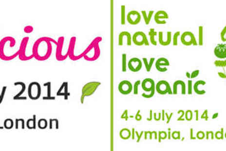 V Delicious - Two Tickets to V Delicious and Love Natural Love Organic - Save 41%