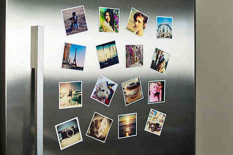 Magnapix - Eight Personalised Photo Fridge Magnets - Save 50%
