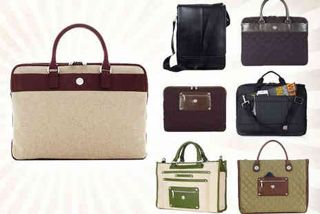 Brand Arena - Choice of Knomo Bags, Sleeves, and Briefcases  - Save 67%