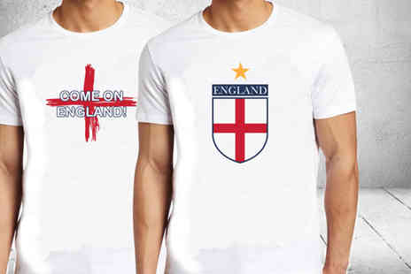 Branded Ego -  England printed t shirt - Save 46%