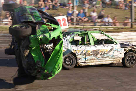 Skegness Stadium - Two adult tickets to a big van banger and Reliant Robin racing event - Save 39%