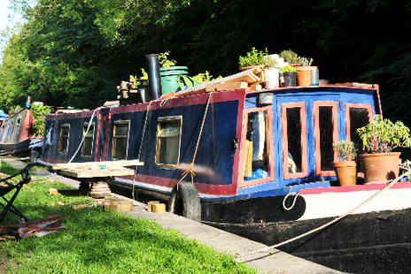 Burscough Boat Hire - Charming Canal Cruise including Afternoon Tea - Save 64%