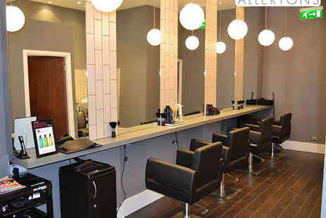 Allertons - Haircut Blow Dry and Luxury Tailored Conditioning Treatment - Save 73%